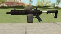 Carbine Rifle GTA V V1 (Flashlight, Tactical) für GTA San Andreas