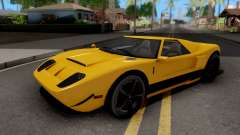 Vapid Bullet GTA 5 Yellow für GTA San Andreas