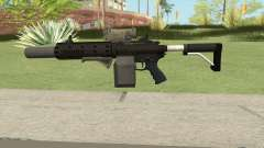 Carbine Rifle V1 (Grip, Silenced, Tactical) pour GTA San Andreas