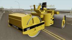 Caterpillar Road Roller für GTA San Andreas