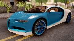 Bugatti Chiron Blue pour GTA San Andreas