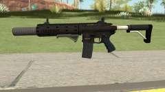 Carbine Rifle GTA V Default (Grip, Silenced) pour GTA San Andreas