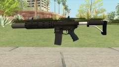 Carbine Rifle GTA V V2 (Silenced, Flashlight) pour GTA San Andreas