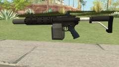 Carbine Rifle GTA V V1 (Silenced, Flashlight) pour GTA San Andreas