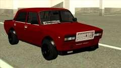 Rot VAZ 2107 Combat Classic für GTA San Andreas