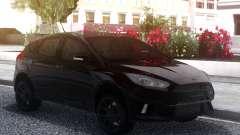 Ford Focus RS 2018 Black pour GTA San Andreas