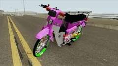 Honda C70 GBO J Alloy Godzilla pour GTA San Andreas