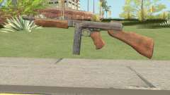 Thompson SMG (Tommy Gun) From PUBG pour GTA San Andreas