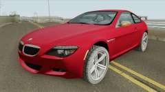 BMW M6 HQ pour GTA San Andreas