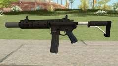 Carbine Rifle GTA V Silenced (Extended Clip) pour GTA San Andreas
