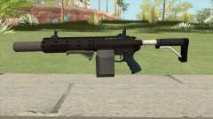 Carbine Rifle GTA V Box (Grip, Silenced) pour GTA San Andreas
