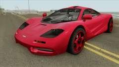 Mclaren F1 IVF pour GTA San Andreas