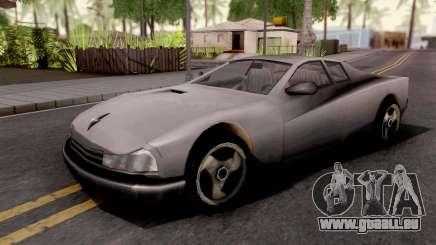Cheetah GTA III Xbox pour GTA San Andreas