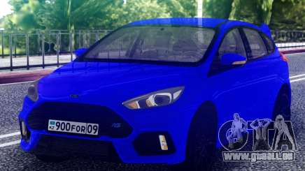 Ford Focus RS 2017 Hatchback für GTA San Andreas