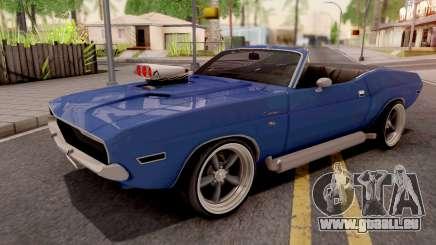 Dodge Challenger Cabrio 1970 pour GTA San Andreas
