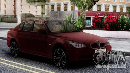 BMW 530XD E60 Cherry pour GTA San Andreas