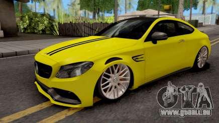Mercedes-Benz C63S Coupe pour GTA San Andreas