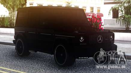 Mercedes-Benz G-Class Black pour GTA San Andreas