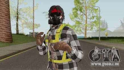 Black Guy Skin V3 pour GTA San Andreas