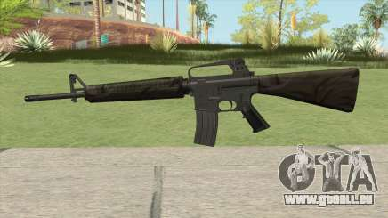 M16A2 Partial Jungle Camo (Stock Mag) pour GTA San Andreas