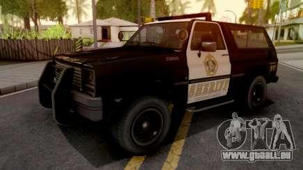 GTA IV Declasse Sheriff Rancher SA Style pour GTA San Andreas