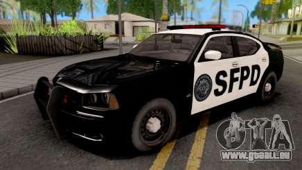 Dodge Charger SRT 8 Police für GTA San Andreas
