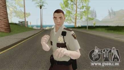 Arklay County Sheriff V1 Resident Evil 2 Remake pour GTA San Andreas