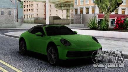 Porsche 911 Cabriolet Carrera 4S 2020 pour GTA San Andreas