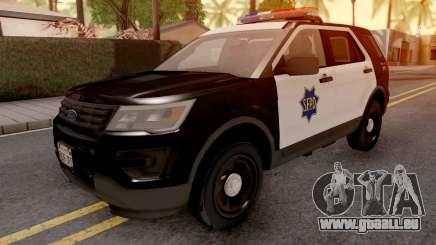 Ford Explorer 2016 SFPD pour GTA San Andreas