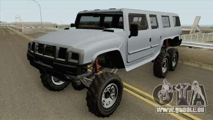 Mammoth Patriot 6x6 GTA V für GTA San Andreas