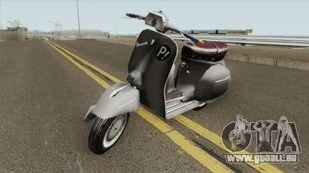 Vespa 180SS für GTA San Andreas