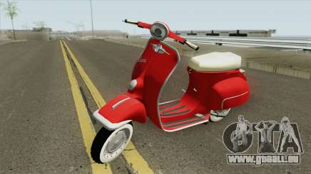 Vespa 150SS Red Style pour GTA San Andreas