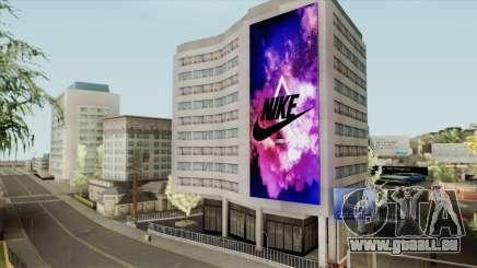 Nike Billboard für GTA San Andreas