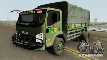 Isuzu Truck (Army) pour GTA San Andreas