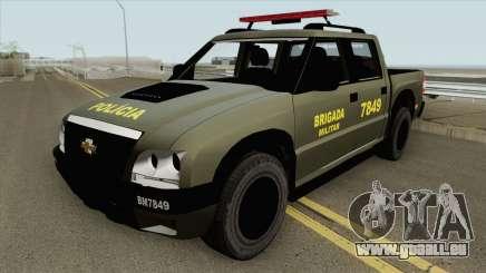 Chevrolet S10 (Brigada Militar) pour GTA San Andreas