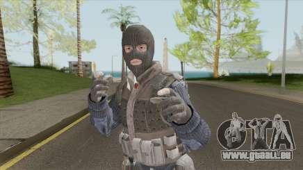 Colussus Militia V1 (Call Of Duty: Black Ops II) pour GTA San Andreas