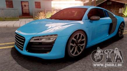Audi R8 V10 Plus Blue für GTA San Andreas
