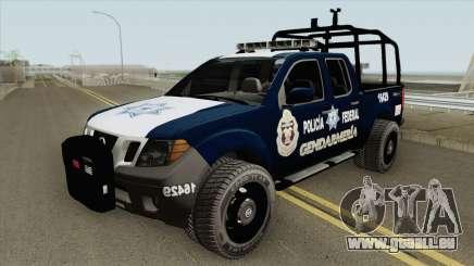 Nissan Frontier (Policia Federal Division) pour GTA San Andreas