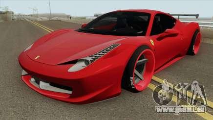 Ferrari 458 Italia HQ für GTA San Andreas