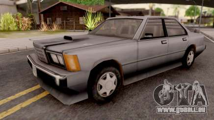 Sentinel XS from GTA VC Grey für GTA San Andreas