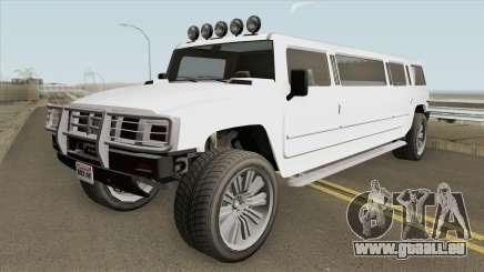 Mammoth Patriot Stretch GTA V für GTA San Andreas
