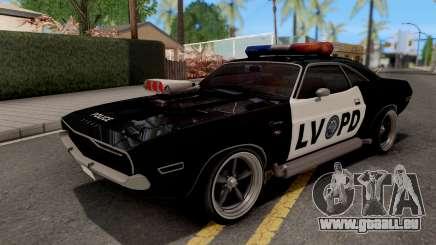 Dodge Challenger 1970 Police LVPD pour GTA San Andreas