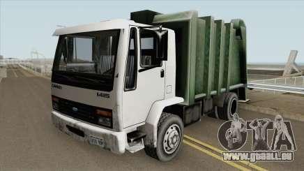 Ford Cargo 1415 Trash (SA Style) pour GTA San Andreas