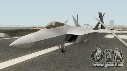 F-22 Raptor MQ pour GTA San Andreas