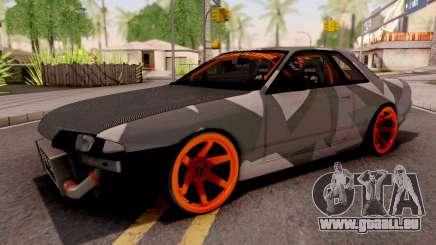Nissan Skyline R32 Drift Camo v5 pour GTA San Andreas