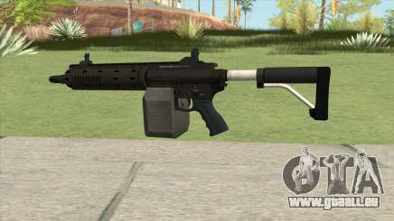Carbine Rifle GTA V Flashlight (Box Clip) pour GTA San Andreas