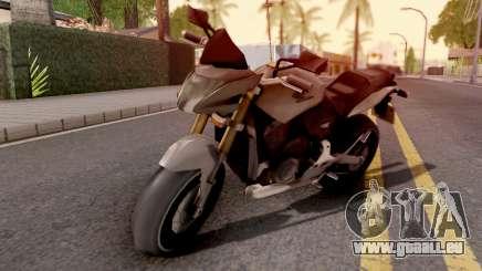 Honda CB Hornet 160R pour GTA San Andreas