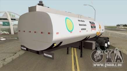 Tank Trailer V1 (Policia Militar) pour GTA San Andreas