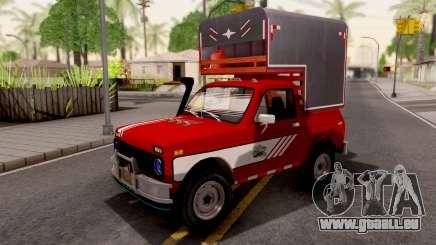 Lada Niva Pick-Up pour GTA San Andreas
