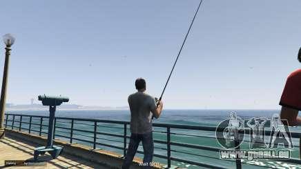 Fishing Mod pour GTA 5